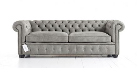 London Chesterfield Soffa